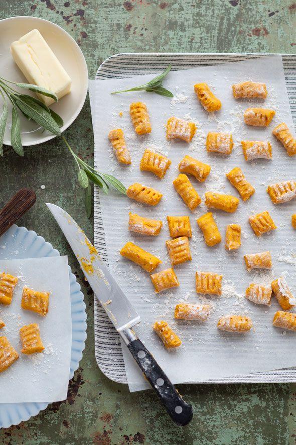 Sunday dinner inspiration: gluten-free pumpkin, quinoa and hazelnut gnocchi.