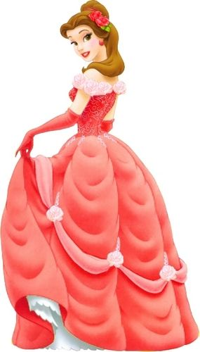 belle in red - disney-princess Photo