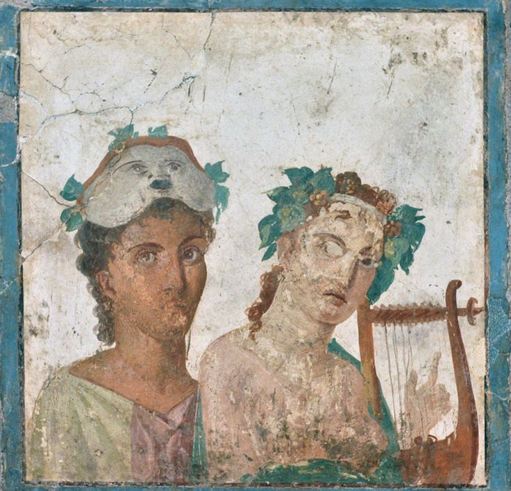 Fresco from Pompeii - Museo Archeologico Nazionale Naples