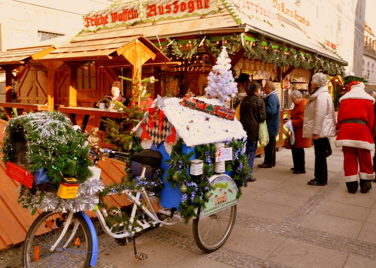 Loved the Munich Christmas Market! The air is full of the most heavenly green smells!