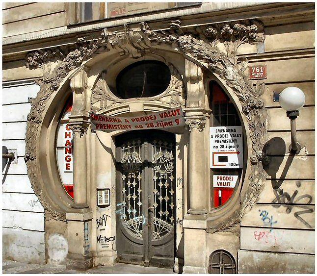 Czech RepublicArt Nouveau, Community Shared, Jugendstil Praag, Czech Republic, Yesterday Craftsmanship, Shared Boards, Art Deco, Jugenstil Entrance