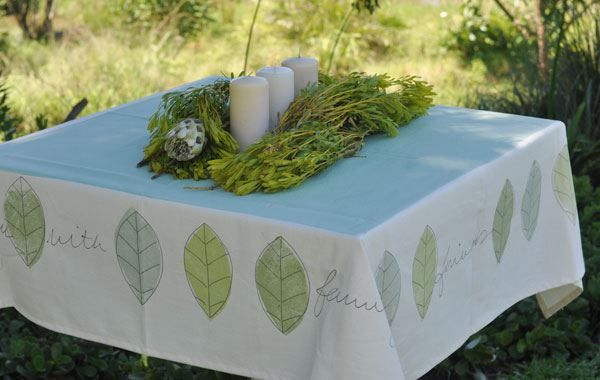 Verde Tablecloth Square