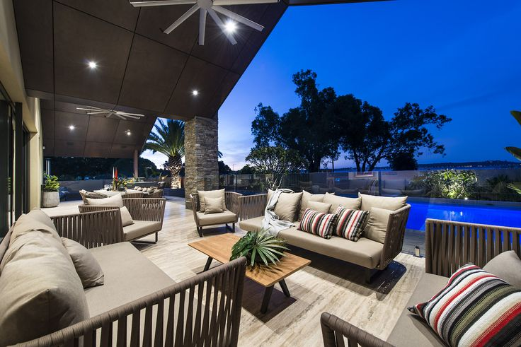Alfresco living at its finest!  Designed and built by Urbane Projects, Perth.