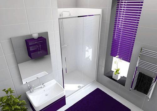Envirotec 1200 Alcove shower pod with sliding door