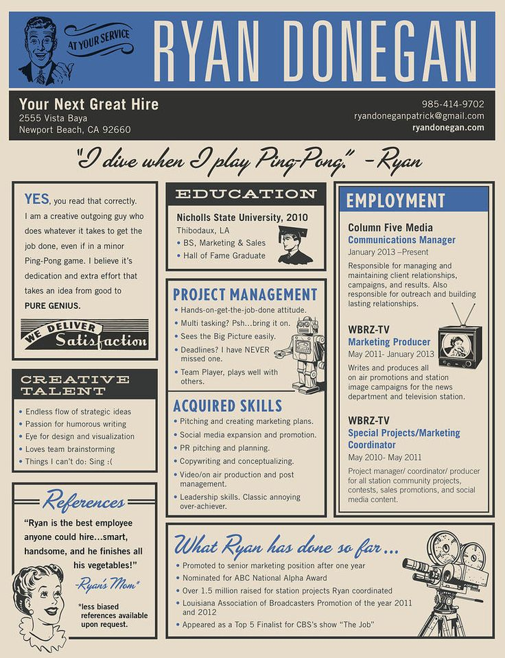 Best 25+ Cool Resumes Ideas On Pinterest | Curriculum Vitae