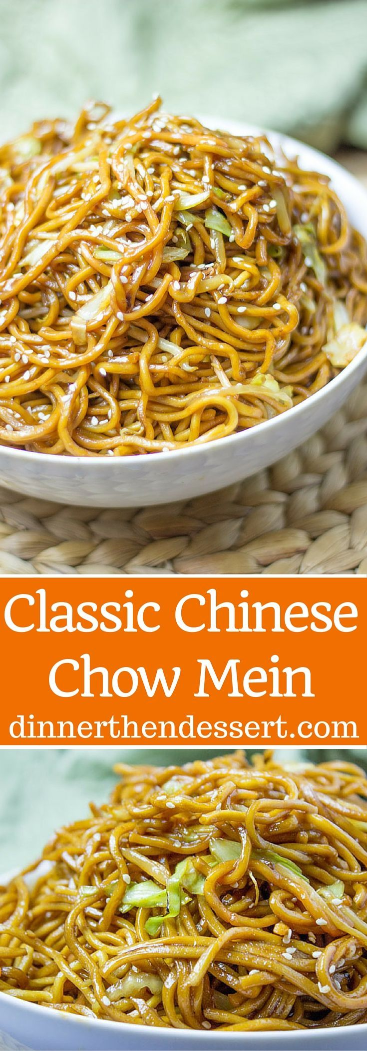 Classic Chinese Chow Mein With Authentic Ingredients And Easy Ingredient Swaps To Make This A Pantry Food Recipes