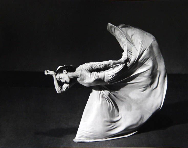Martha Graham by Toni Frissell