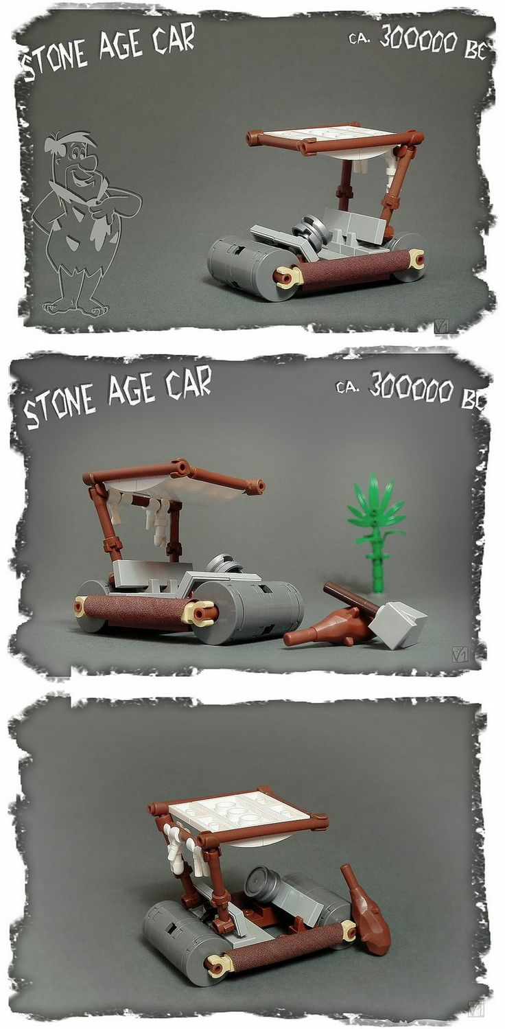 Flintstones' car - only for 63 parts!