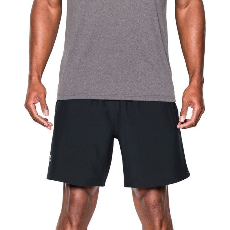 Under Armour Men's Launch Two-In-One Running Shorts, Size: XL, Black