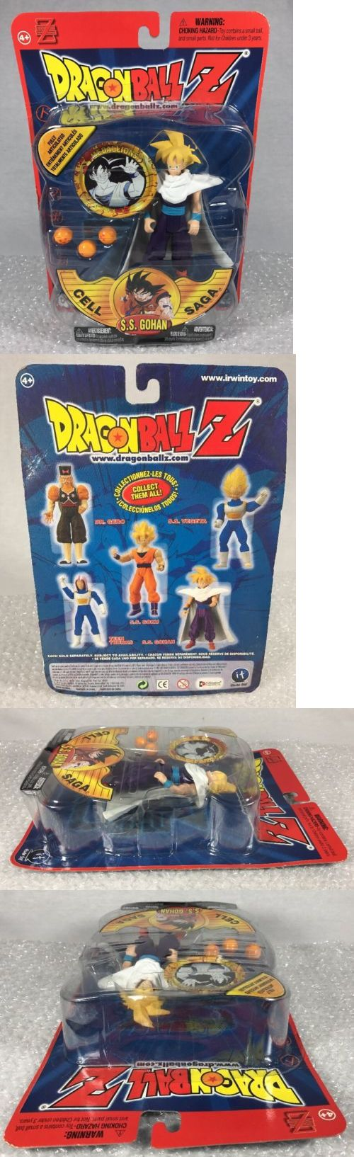 DragonBall Z 7117: Dragon Ball Z Irwin Toys S.S. Gohan Cell Saga Dbz Sealed Action Figure 2001 -> BUY IT NOW ONLY: $34.99 on eBay!