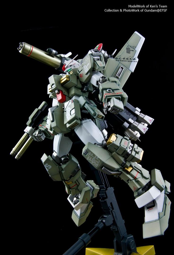 GUNDAM GUY: FA Full Armor Gundam Ver. WhiteBase - Custom Build