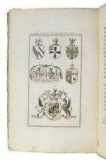 1795 ELEMENTS OF HERALDRY History HERALDIC DEVICES Coats of Arms ENGRAVED PLATES