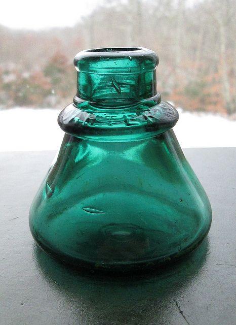 Vintage Ink Well- bottle eBay