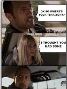 Territory conundrum...