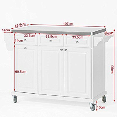 Küchenwagen mit mülleimer  Die besten 25+ Mülleimer küche Ideen auf Pinterest | Mülleimer ...