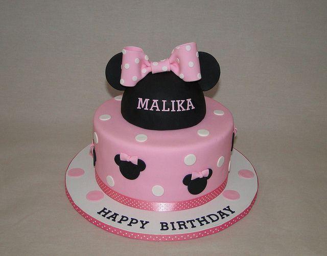 Minnie cake by cakesbyelisa, via Flickr
