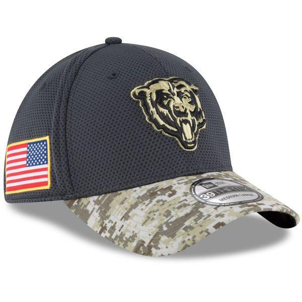 2016 New Era NFL Chicago Bears Salute To Service Camo Hat  39Thirty #NewEra #ChicagoBears