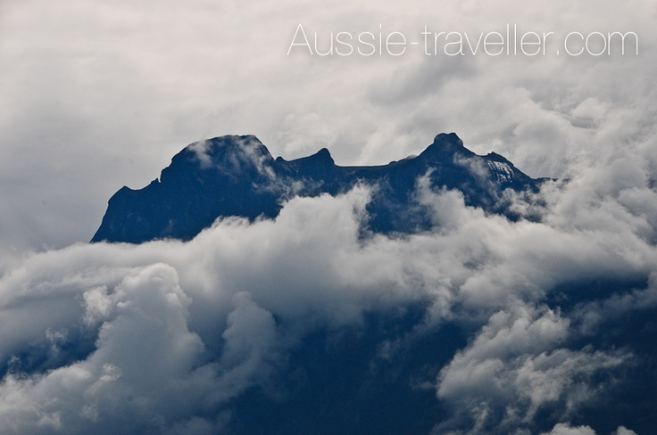 Mt Kinabalu - surrounded by amazing clouds!