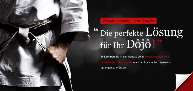 Webdesign für Karate Vereine und Karate Dojo. Einfach mieten statt zu kaufen. Ein Projekt von Albrecht & Stöter Werbeagentur | http://albrecht-stoeter.de/aktion/website-karatevereine
