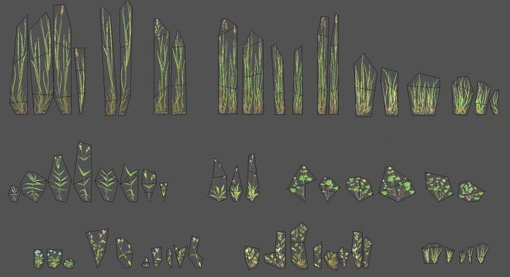 Crysis, Crysis 3, Ryse: Son of Rome, Warface, gamedev, 3dart, visual design, natural environments, trees, foliage modeling, 3ds max, zbrush, lowpoly models, Ronny Muehle, Patrick Gladys, Luke Adwik