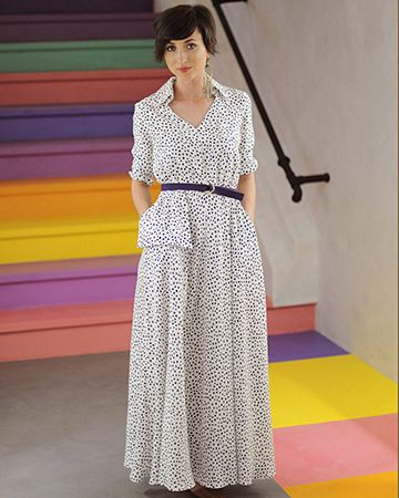 Polkadot me | Maxi dress so comfy and stylish |
