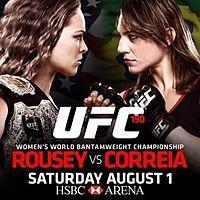 Ronda Rousey vs. Bethe Correia set for August 1st in Brazil