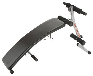 Sit Up Bench with Dumbbell Rack - contemporary - Home Gym Equipment - ivgStores