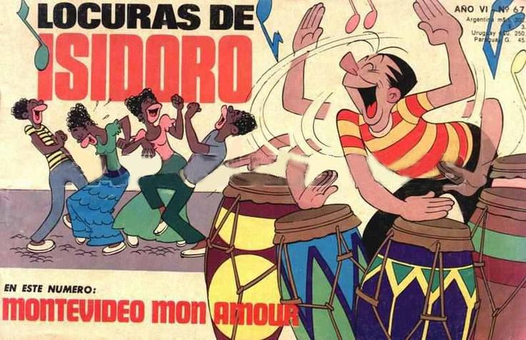Isidoro Cañones en Montevideo. Subido a Facebook por Schwarrzt Kopff (Le Noir) el 26 de julio de 2012.