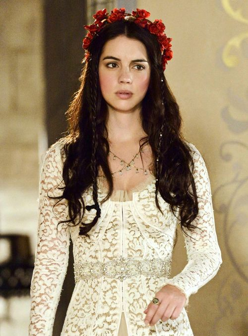 reign, adelaide kane - hair, hair pieces & gown envy ...