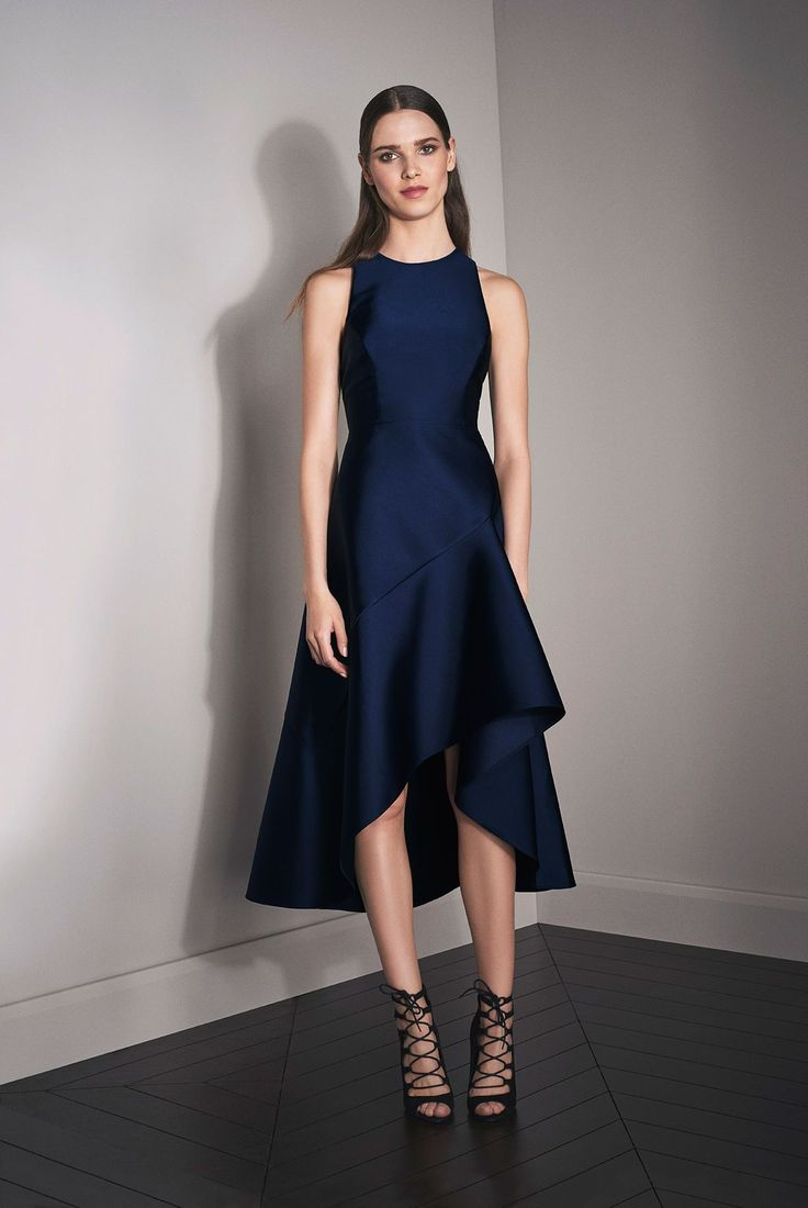Coast Autumn Winter Lookbook 2016   Cara Satin Midi Dress