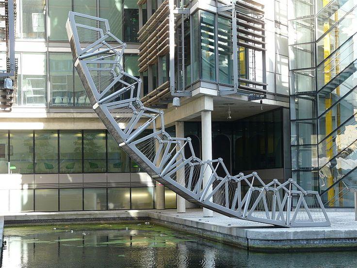The Rolling Bridge By Thomas Heatherwick Architecture