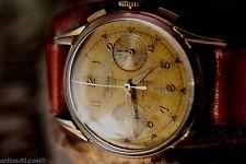 Fidelius Chronograph Landeron 48 - Mechanische Armbanduhr Vintage
