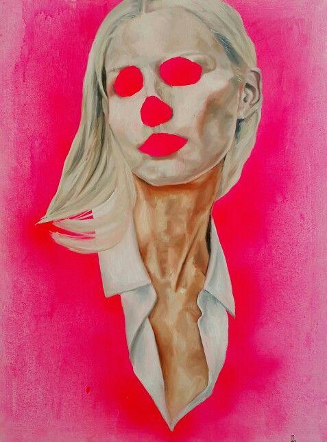 Momento mori, oil on canvas.  Nathan Vuuren.