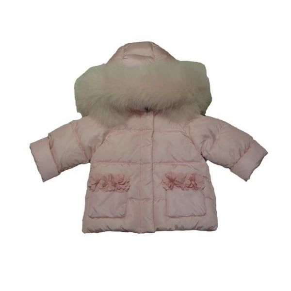 7f3bfa6e9 Il Gufo Baby Girls Pink Padded Down Jacket
