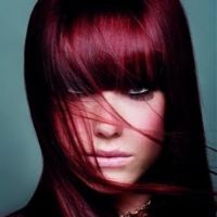 Burgundy hair usually refers to red, black or brown hair with purple tones. Luckily, this is an...