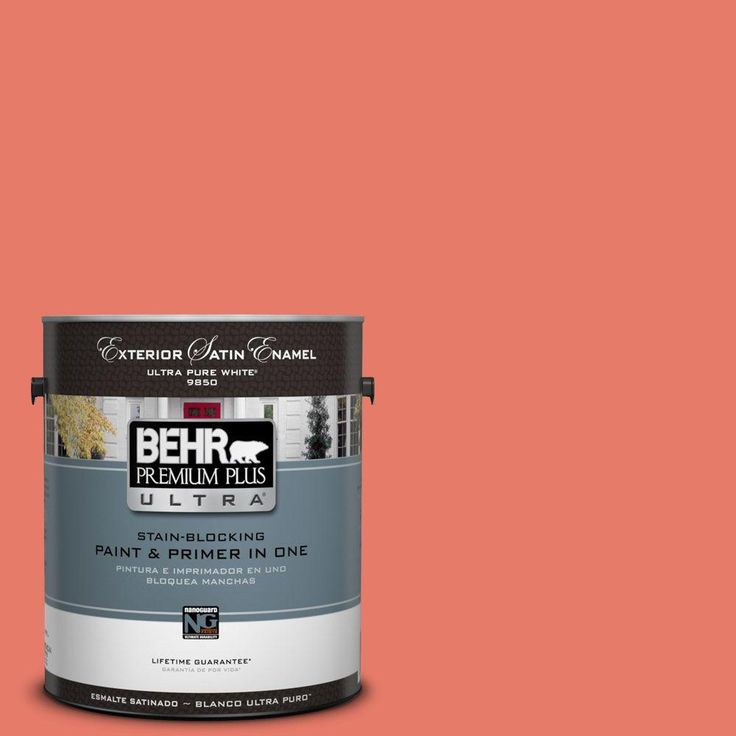 visit the home depot to buy behr premium plus ultra semi gloss royal orchard exterior paint 585301