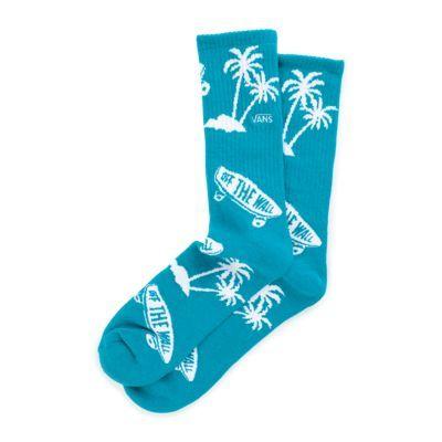 OTW Palm Crew Sock   Shop Mens Socks At Vans