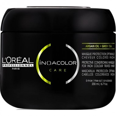 love this for my color treated hair helps protect my investment lloreal professional inoacolor care conditioning masque protection - Inoa Color Care