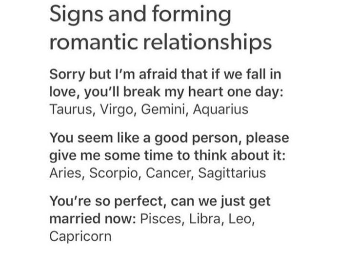 So true, I'm a cautious Virgo. He's a full on Capricorn