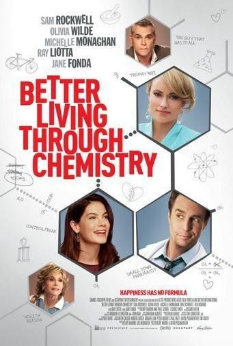 Better Living Through Chemistry poster Metal Sign Wall Art 8in x 12in