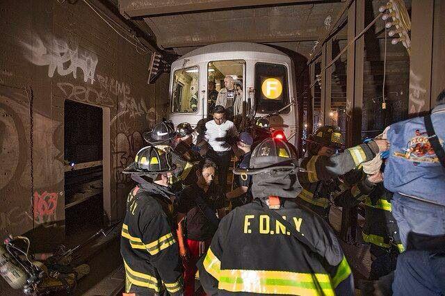 Mta derailment of F train 2014 nyc
