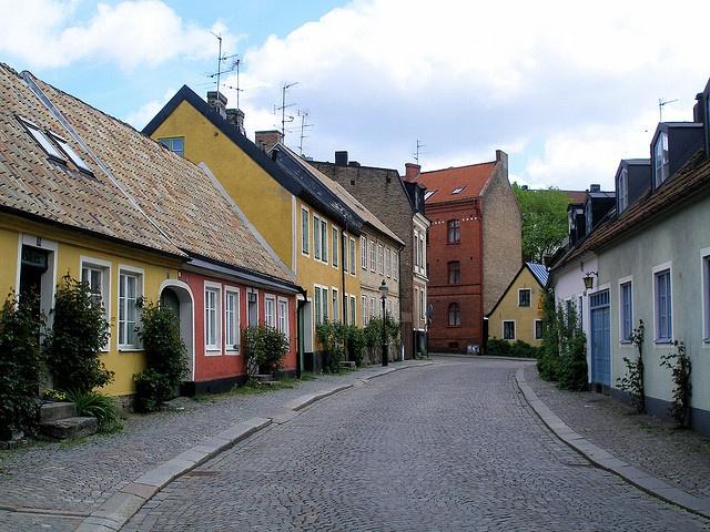 Vacker bild, Lund, Sweden
