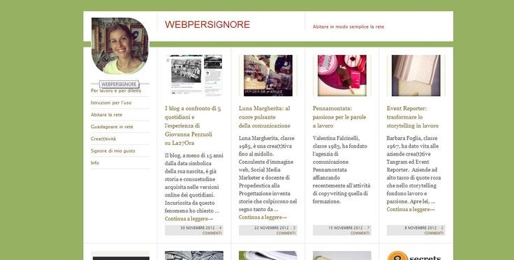 Webpersignore, Rachele Muzio