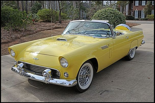 1956 Ford Thunderbird..Re-pin brought to you by agents of #Carinsurance at #HouseofInsurance in Eugene, Oregon