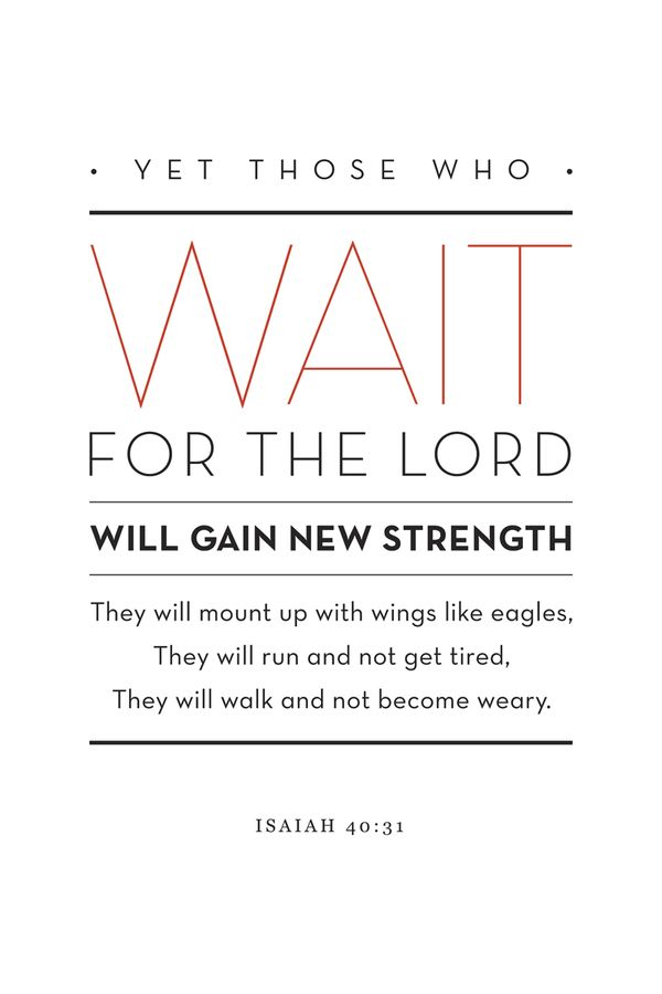 Isaiah 40:31. Lots of great typography on Behance.