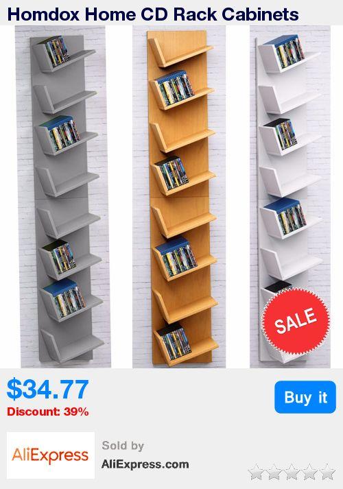 Homdox Home CD Rack Cabinets Bookcase Bookshelf Storage Shelf Shelves * Pub Date: 16:13 Apr 12 2017