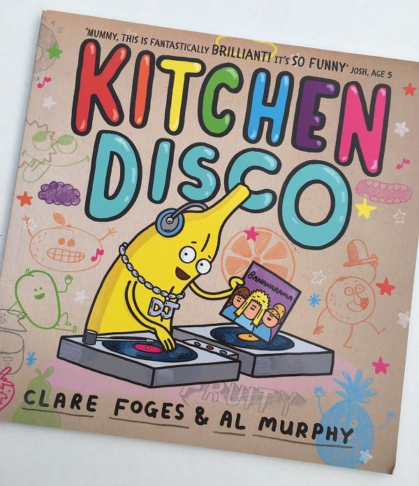 Gift Grapevine Kitchen Disco book review - cover art