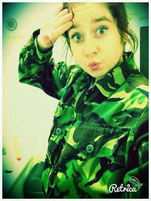 My niece harlie in her cadet uniform