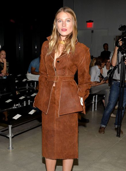 MBFW: Front Row at Calvin Klein Collection - Pictures - Zimbio