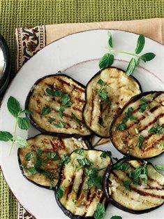 Sarımsaklı ızgara patlıcan